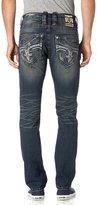 Rock Revival Men's Tomashi A202 Alt Straight Cut Jeans