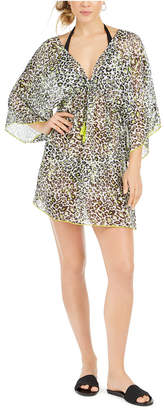 Soluna Into the Wild Printed Tunic Swim Cover-Up Women Swimsuit