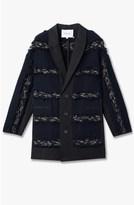 Derek Lam Stripe Fringe Jacket