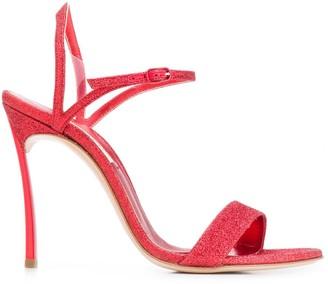 Casadei Glittered Sandals
