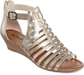 A.N.A a.n.a Grayson Gladiator Wedge Sandals