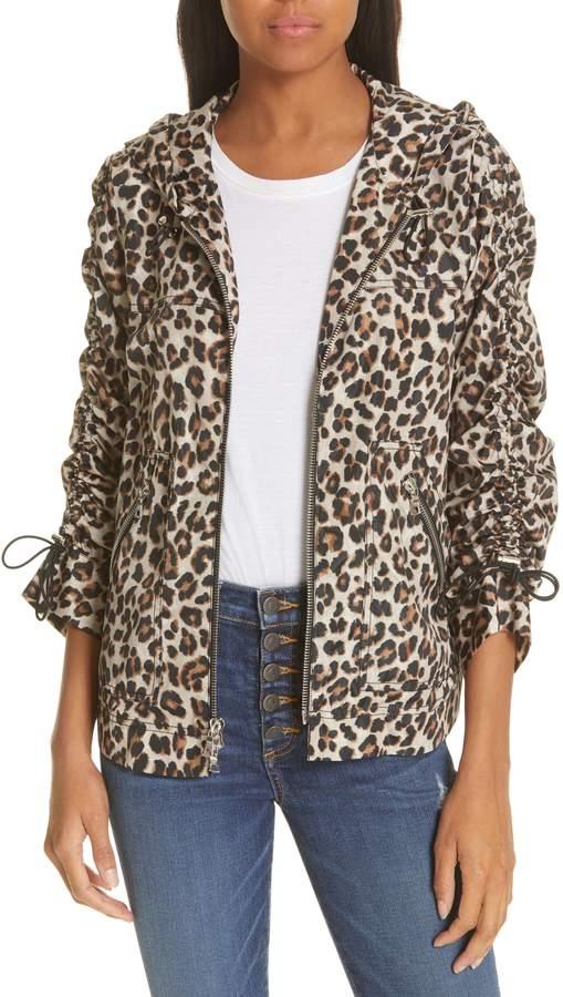 Sibila Leopard Print Jacket
