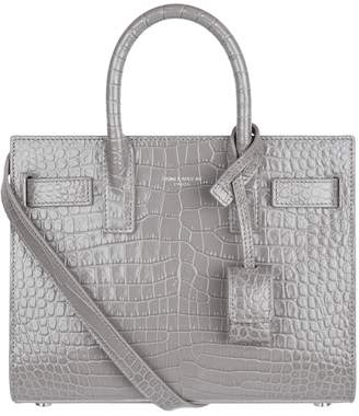 Saint Laurent Nano Croc Sac De Jour Tote Bag