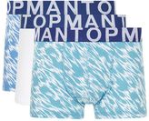 Topman Blue Tiger Low Rise Trunks 3 Pack