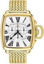 Glam Rock Men's Vintage Gold Plated Bracelet Swiss Quartz Watch Gr28102f-N