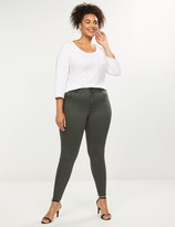 Lane Bryant Tighter Tummy High Rise Skinny Jean - Deep Forest
