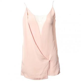 Celine Pink Viscose Tops