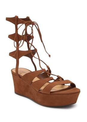 Schutz Lima Ghillie Gladiator Platform Sandal