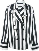 Marques Almeida Marques'almeida - double breasted shirt jacket - women - Cotton - M