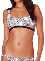 Volcom Leaf Me Alone Crop Bikini Top