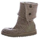 UGG Girls' Carly Rib Knit Boots