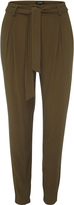 Oxford Julieta Tie Waist Pants Khaki X