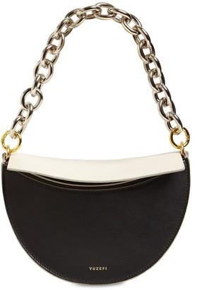 Yuzefi Doris Leather Shoulder Bag
