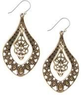 Lucky Brand Goldtone Pendant Earrings
