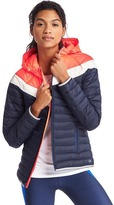 Gap PrimaLoft® chevron zip hooded puffer jacket