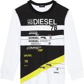 Diesel Die b white ls 78 compact tee