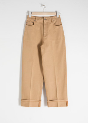 And other stories High Rise Cuffed Jeans