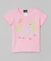 A Wish Pink Pony Tee - Infant Toddler & Girls