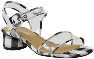 J. Renee Adjustable Block Heel Sandals - Florencio