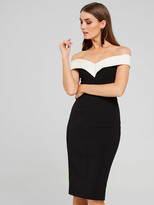 Portmans Photo Finish Off Shoulder Dress
