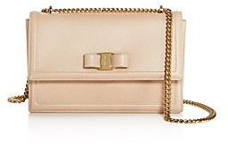 Salvatore Ferragamo Medium Ginny Calfskin Shoulder Bag