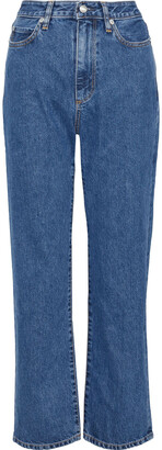 Simon Miller W007 High-rise Straight-leg Jeans
