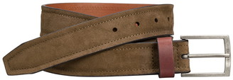 Johnston & Murphy Suede & Leather Reversible Belt