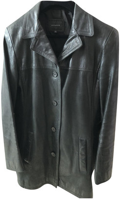 Oakwood Black Leather Leather jackets