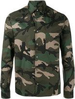Valentino camouflage shirt - men - Cotton - 39
