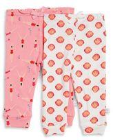 Rosie Pope Baby Baby Girl's Two-Pack Printed Leggings Set