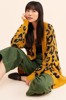 J.o.a. Leopard Cardigan