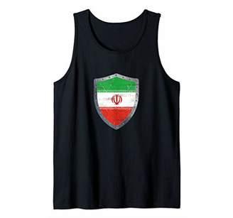 IDEA Iran Iranian Flag Shirt Gift Proud Iranian Men Women Tank Top