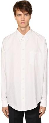 Balenciaga Cocoon Shirt Ls Cotton Shirt