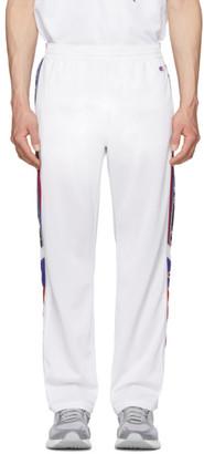 Champion Reverse Weave White Side Stripe Lounge Pants