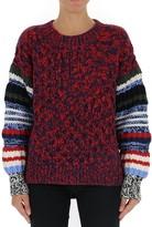 Sonia Rykiel Contrasting Stripes Oversize Sweater