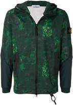 Stone Island abstract print jacket