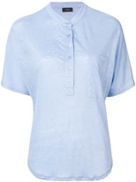Joseph button up T-shirt