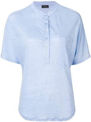 Joseph button up T-shirt