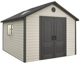 Lifetime Storage Building Shed 11' X 11' - Gray And White