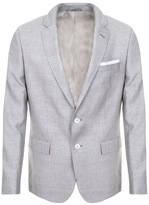 HUGO BOSS Black Hutsons 3 Blazer Jacket Beige