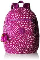 Kipling Clas Challenger, Women's Backpack, Mehrfarbig (Star Swirl), 26x36x21 cm (B x H T)