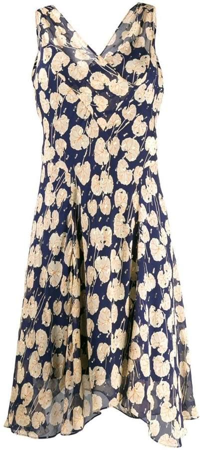 Diane von Furstenberg printed wrap-effect dress