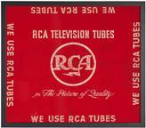 Rejuvenation Framed Red RCA TV Tubes Banner