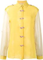 Marco De Vincenzo bow embellished shirt - women - Silk - 42