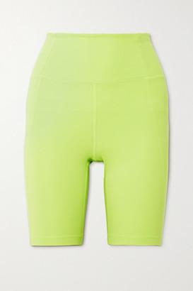 Girlfriend Collective Bike Stretch Shorts - Yellow