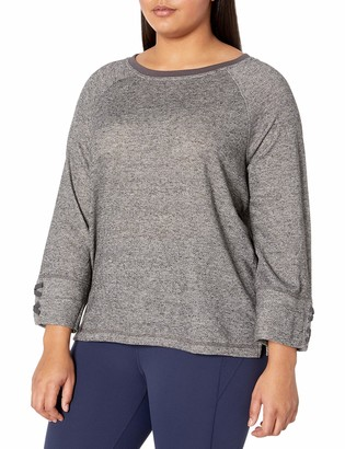 Just My Size Women's Plus Size French Terry Sweatshirt