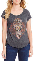 Lucky Brand Short Sleeve Egyptian Mono Graphic Tee