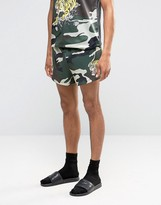 Jaded London Camo Souvenir Shorts