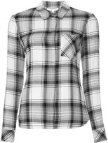 Veronica Beard plaid shirt