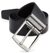 Giorgio Armani Leather Tongue Belt